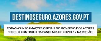Imagem alusiva ao sítio web destinoseguro.azores.gov.pt