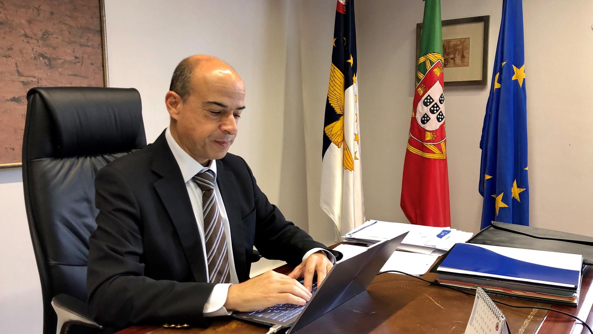 Reunião com  Chefe de Representação da Comissão Europeia em Portugal