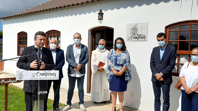 Inauguração da Casa do camponês