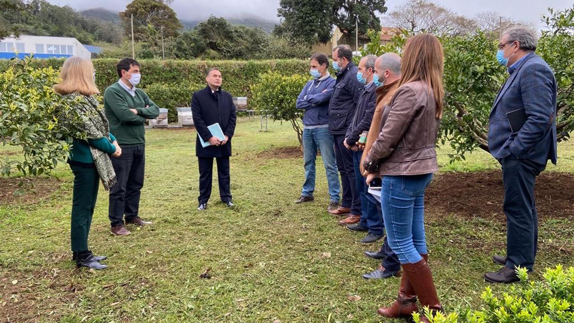 Reunião com associações da ilha Terceira sobre o Programa Apícola Nacional.