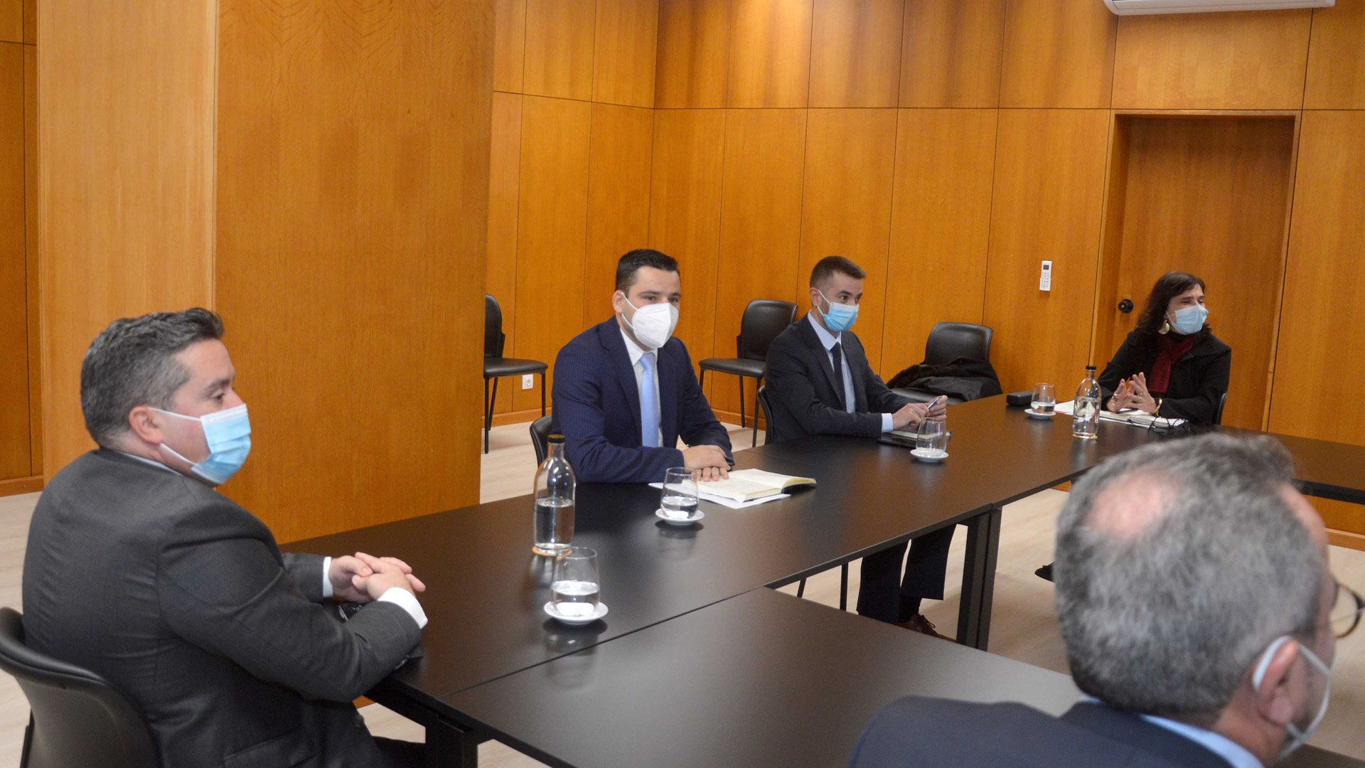 Reunião com a direção da Associação de Municípios da Ilha de São Miguel (AMISM)