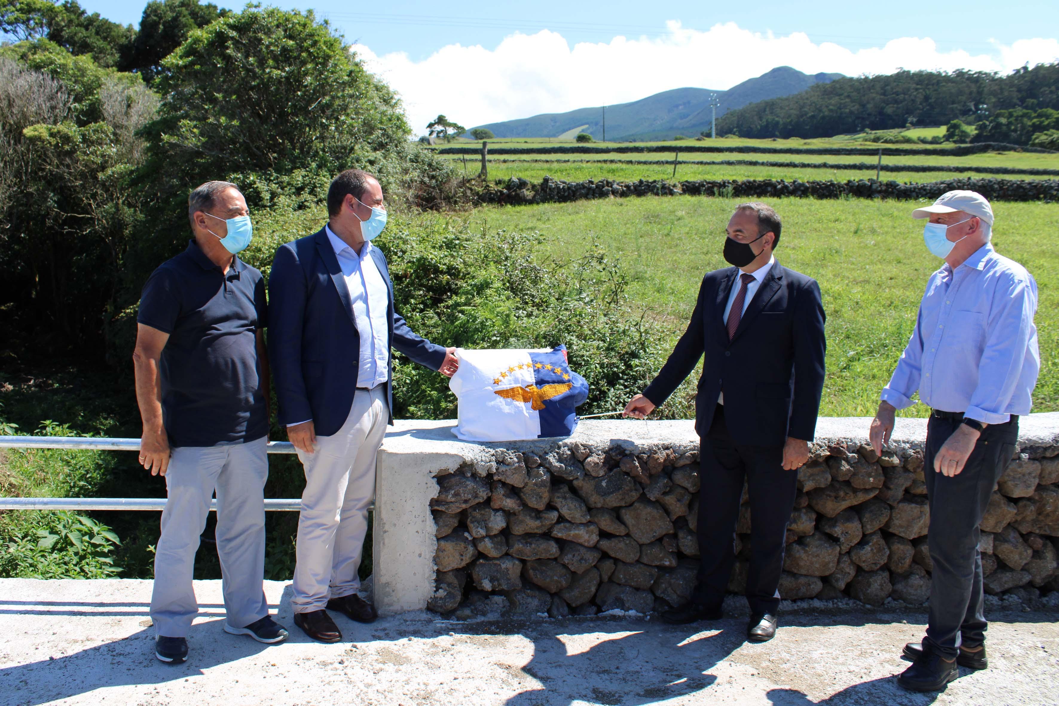 Inauguração da passagem hidráulica da Ribeira das Lajinhas