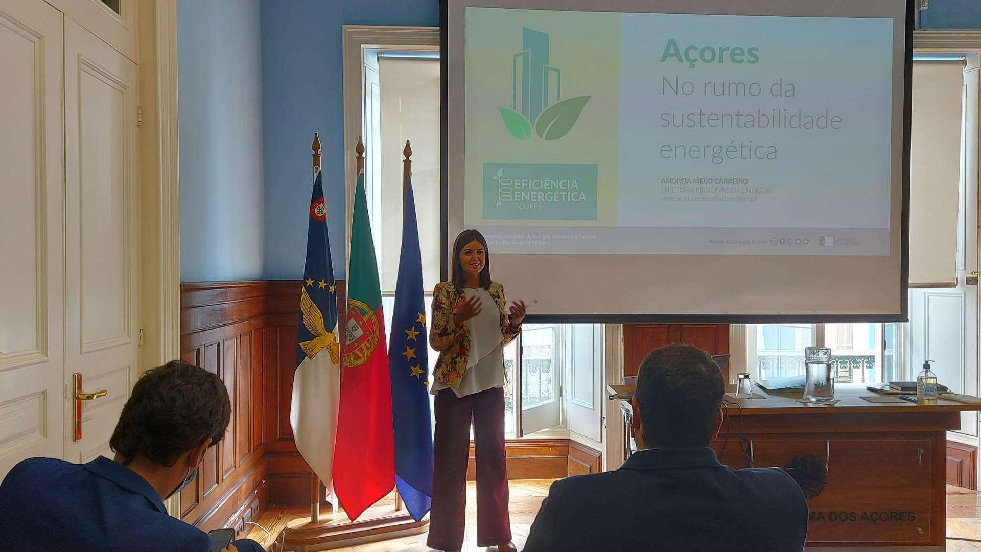 Reunião com os vencedores da Campanha de Promoção de Eficiência Energética nos Açores dedicada às empresas