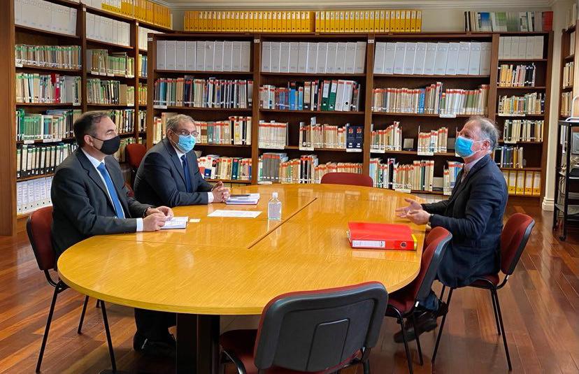 Reunião com o Presidente da Associação Florestal dos Açores