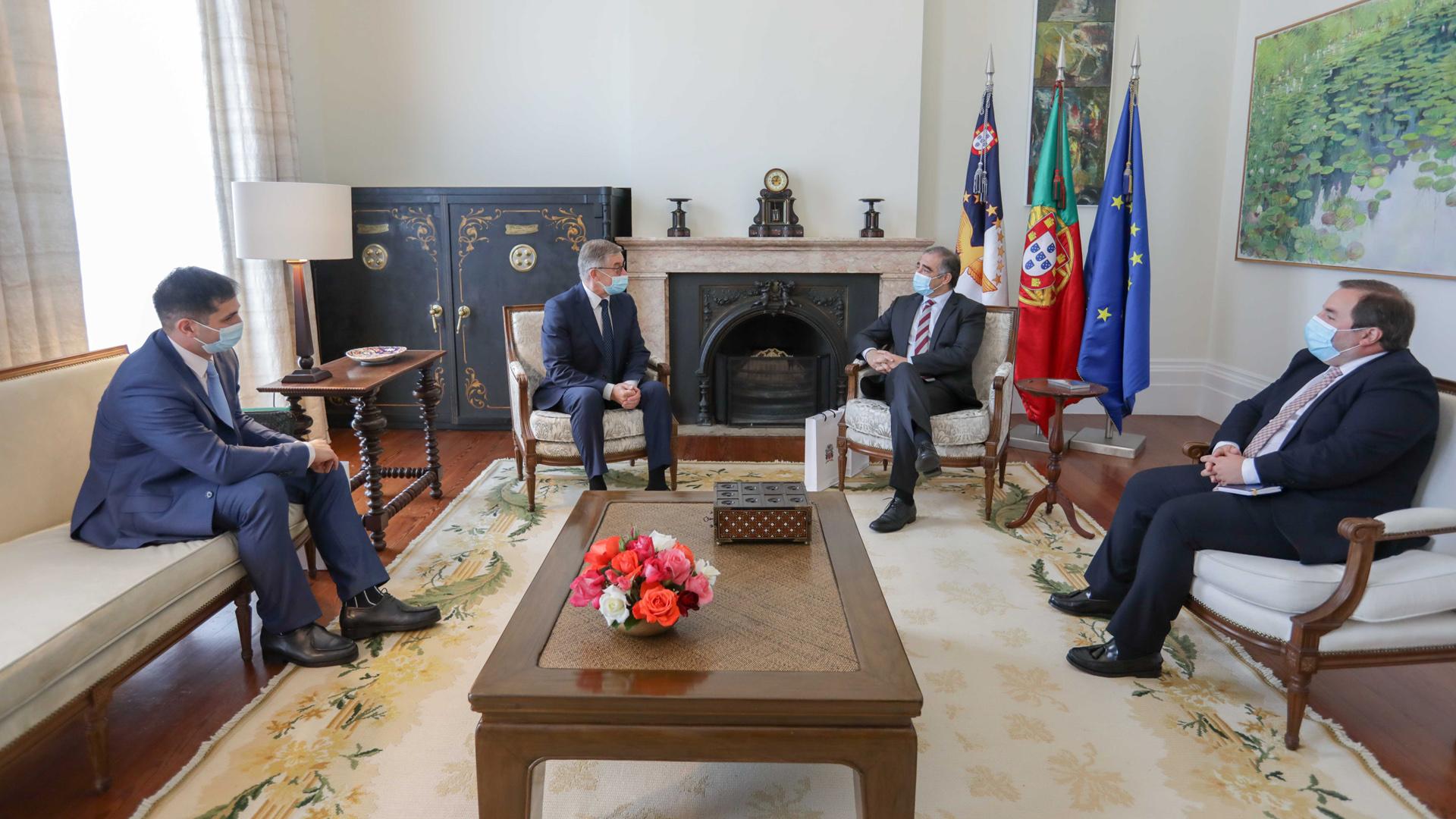 Presidente do Governo recebeu Embaixador da Rússia em Portugal