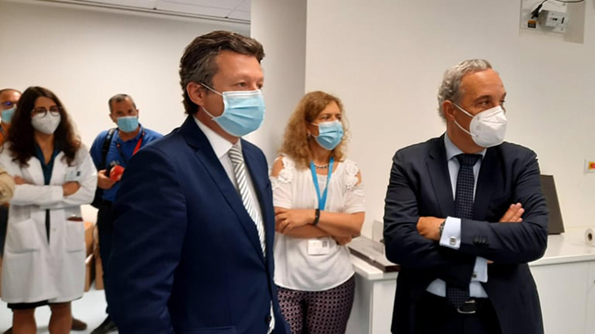 Visita a futura Unidade de Radioterapia do Hospital de Santo Espírito da Ilha Terceira