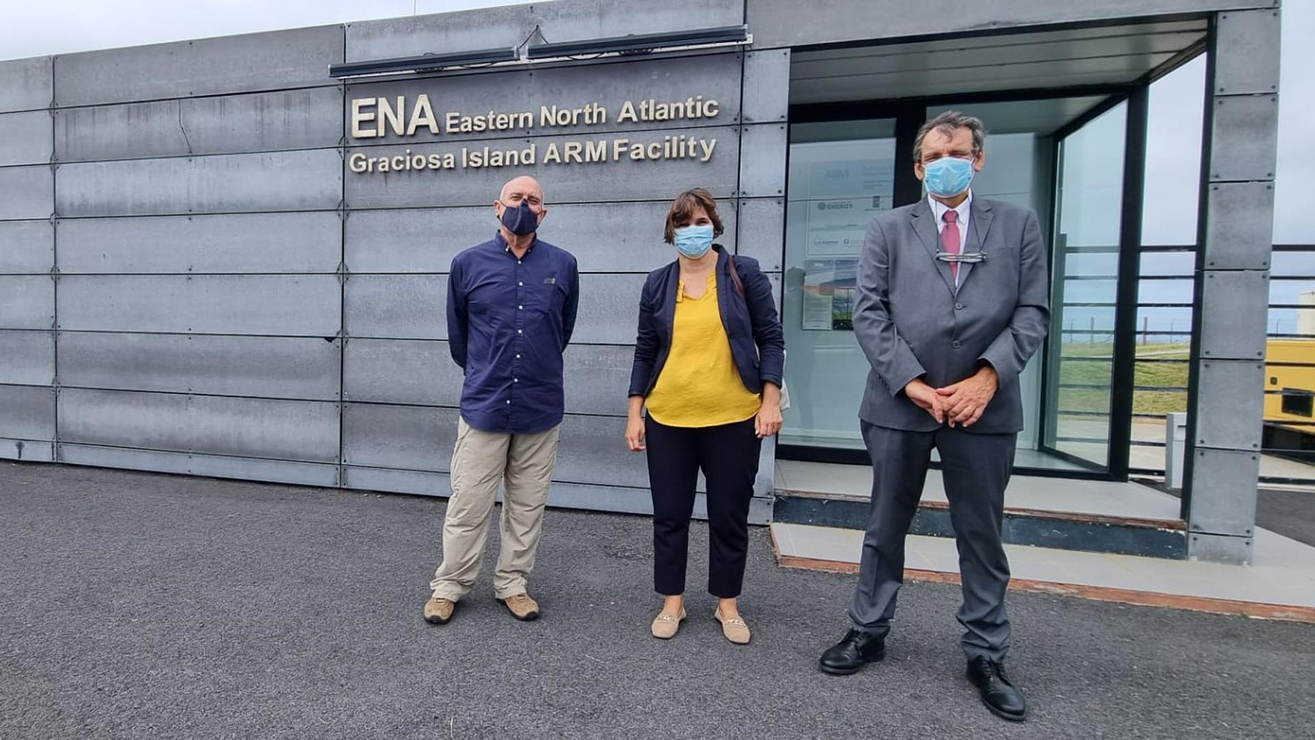 Visita à Eastern North Atlantic, Graciosa Island ARM Facility