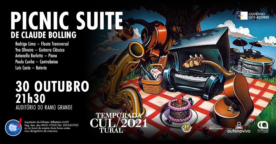 Concerto PICNIC SUITE na Temporada Cultural e no Outono Vivo - Cartaz