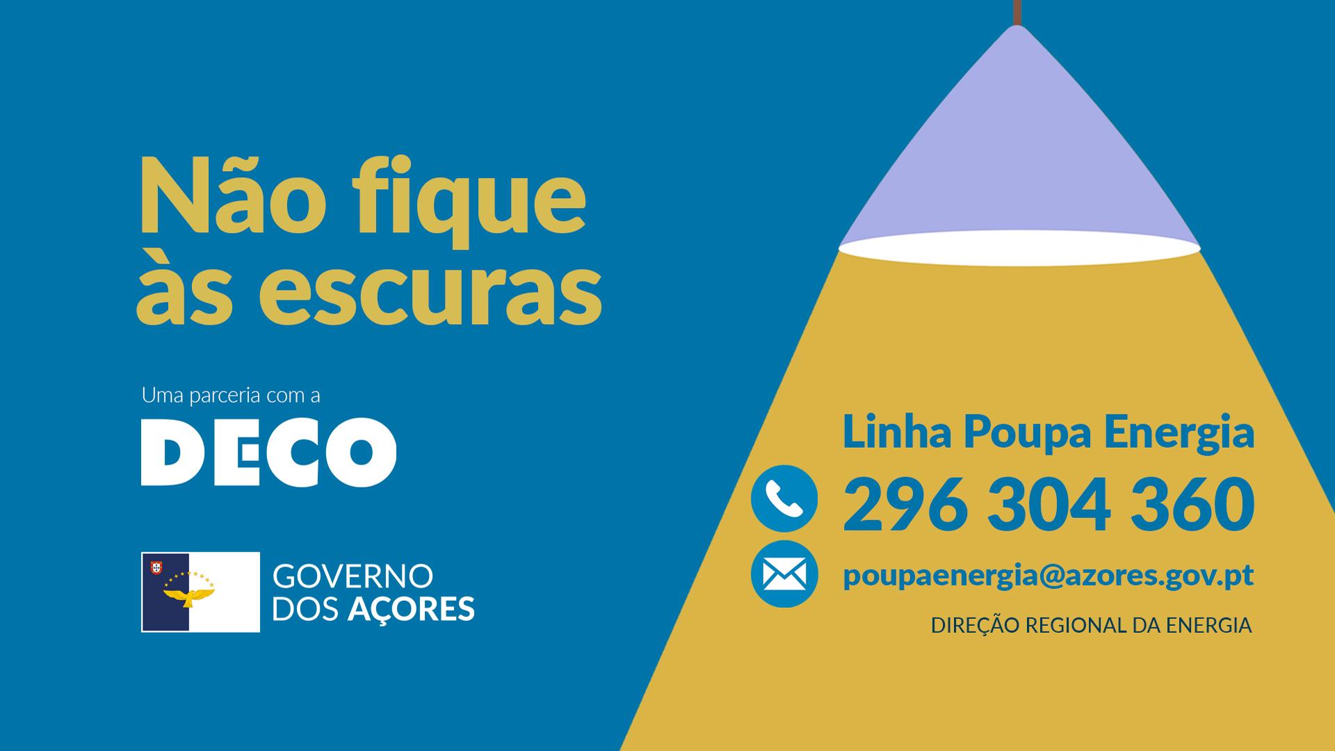 Governo dos Açores associa-se à DECO na promoção da eficiência energética