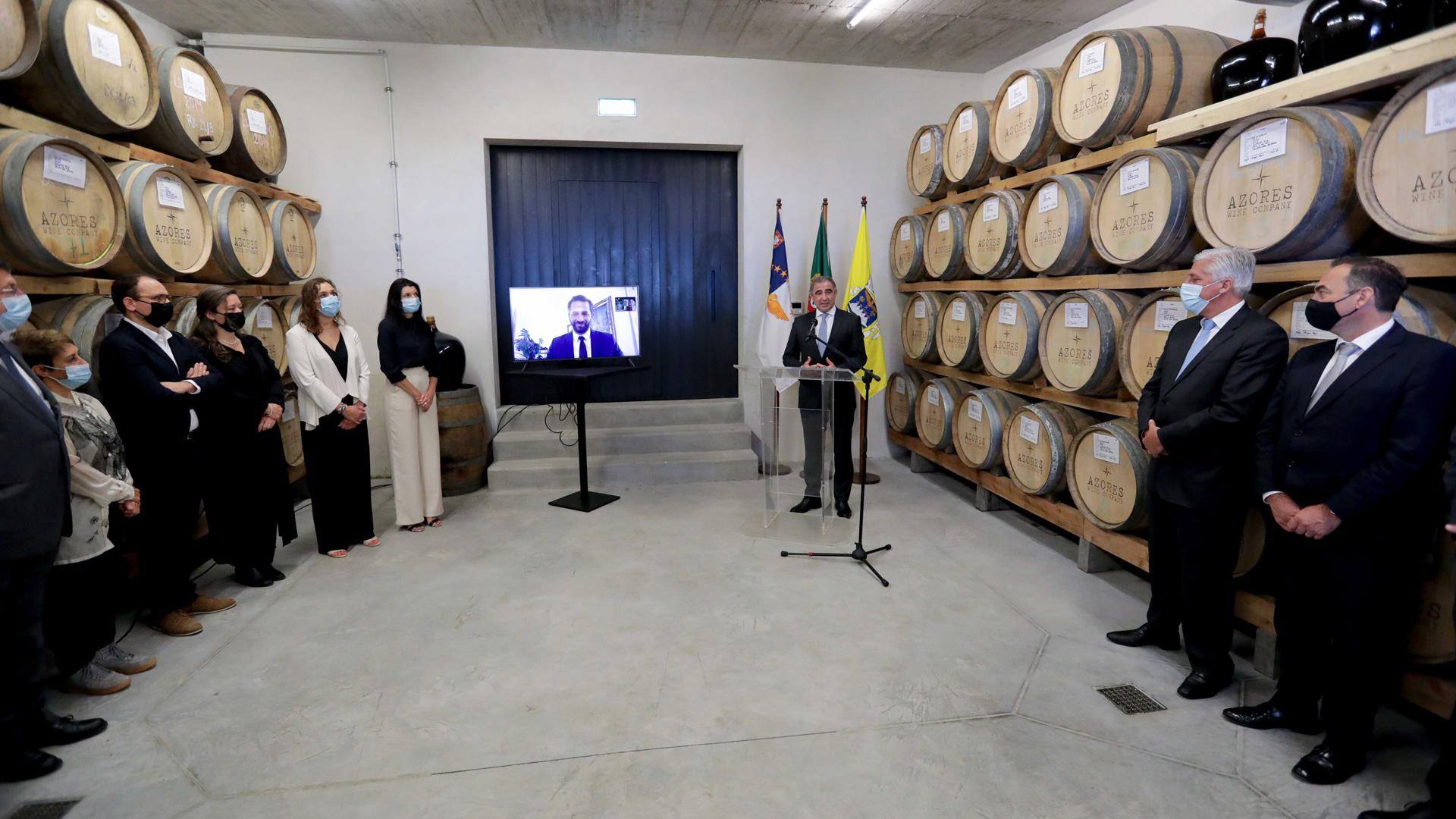 Inauguração da adega da Azores Wine Company