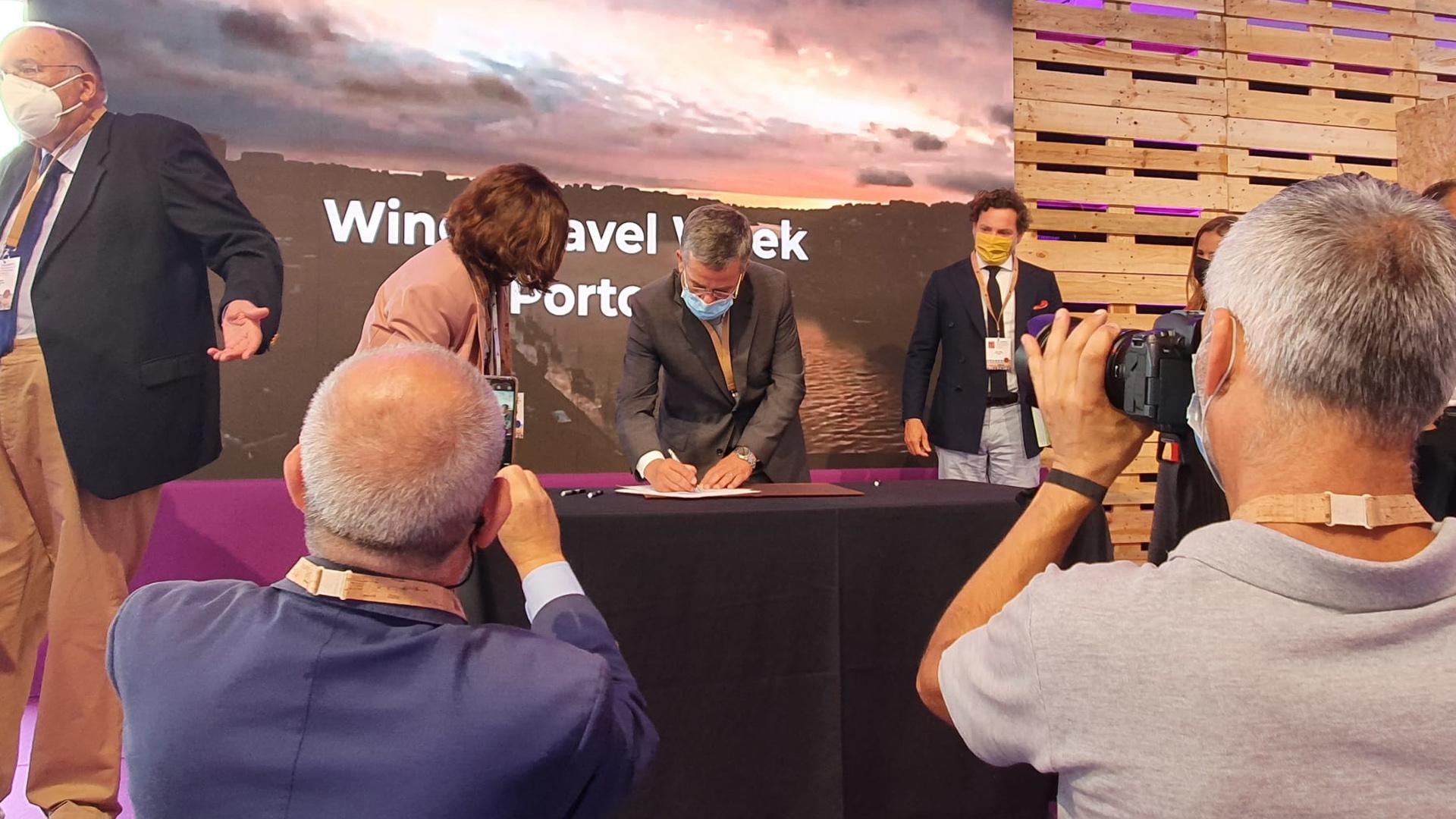 Assinatura do Memorando de Entendimento para a criação do Conselho Estratégico Nacional do Enoturismo