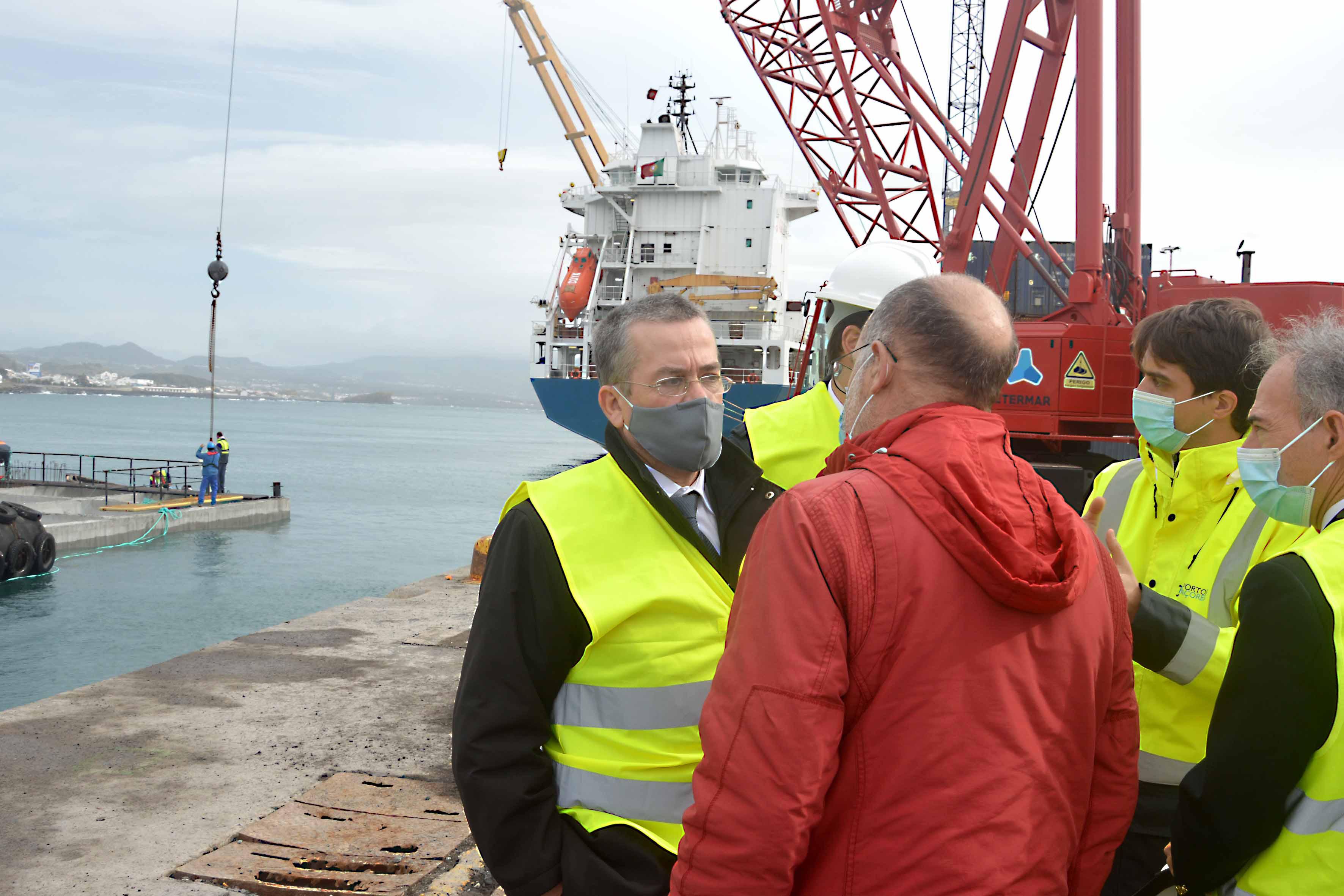 Encontro com a Administração da OPERPDL- Sociedade de Operações Portuárias de Ponta Delgada, Lda