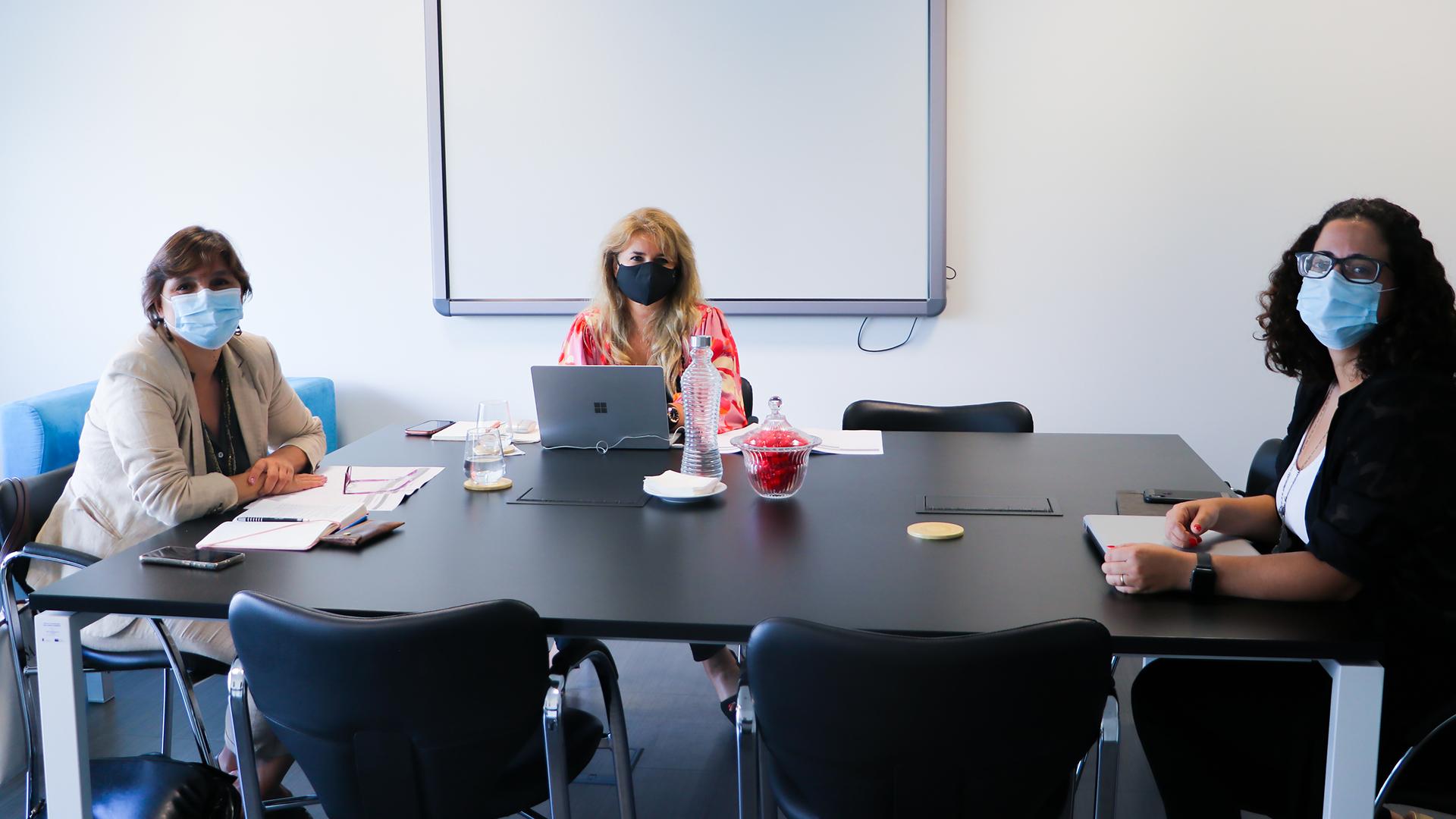 Reunião com empresas sediadas no Nonagon para potenciar a criação de networking estratégico.