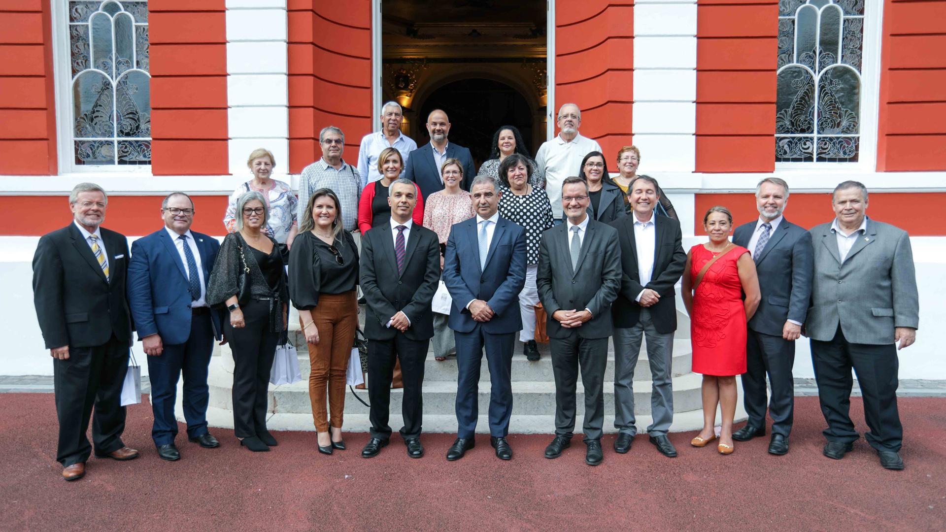 Audiência a representantes das Casas dos Açores