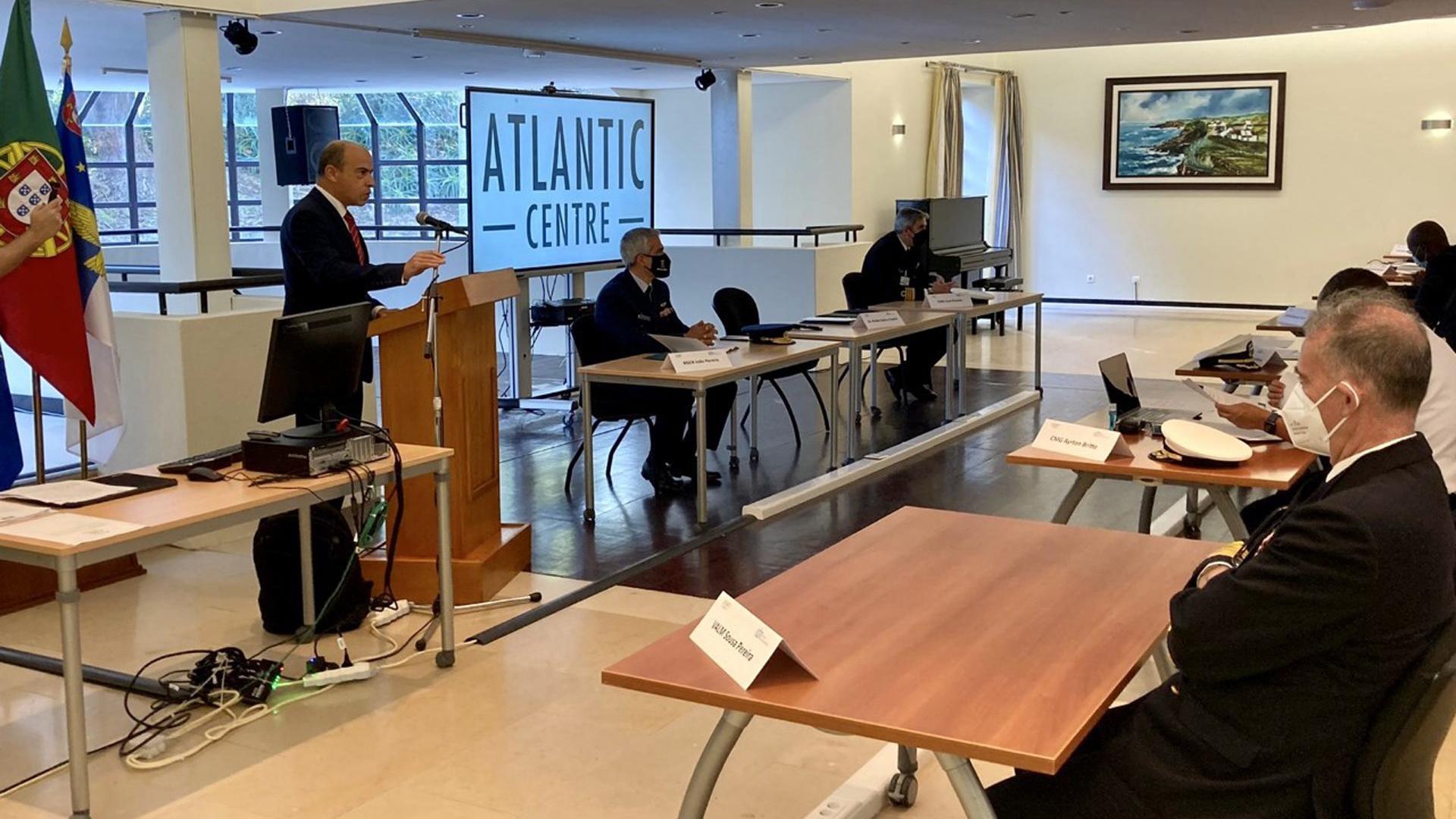 """Sessão de abertura do """"I Curso de Segurança Marítima no Golfo da Guiné"""""""