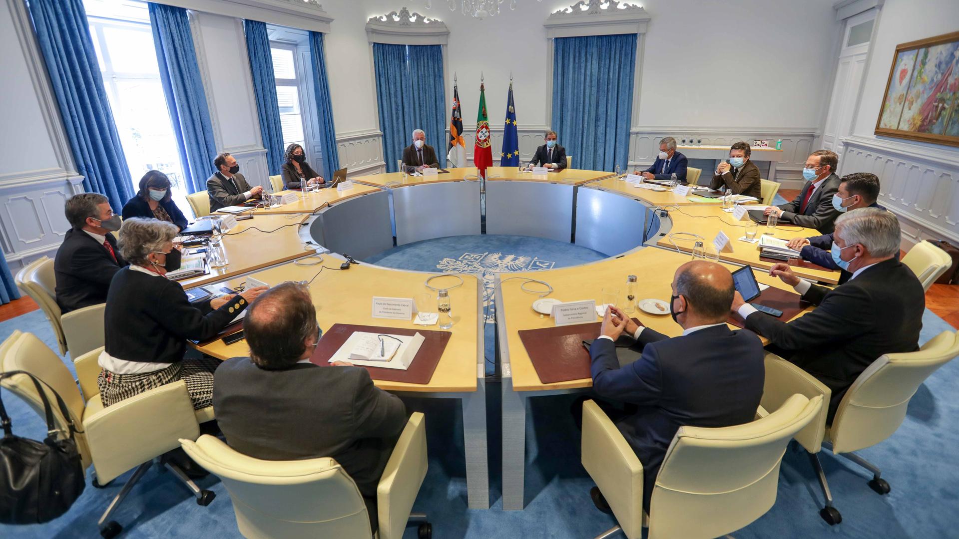 Reunião Conselho de Governo