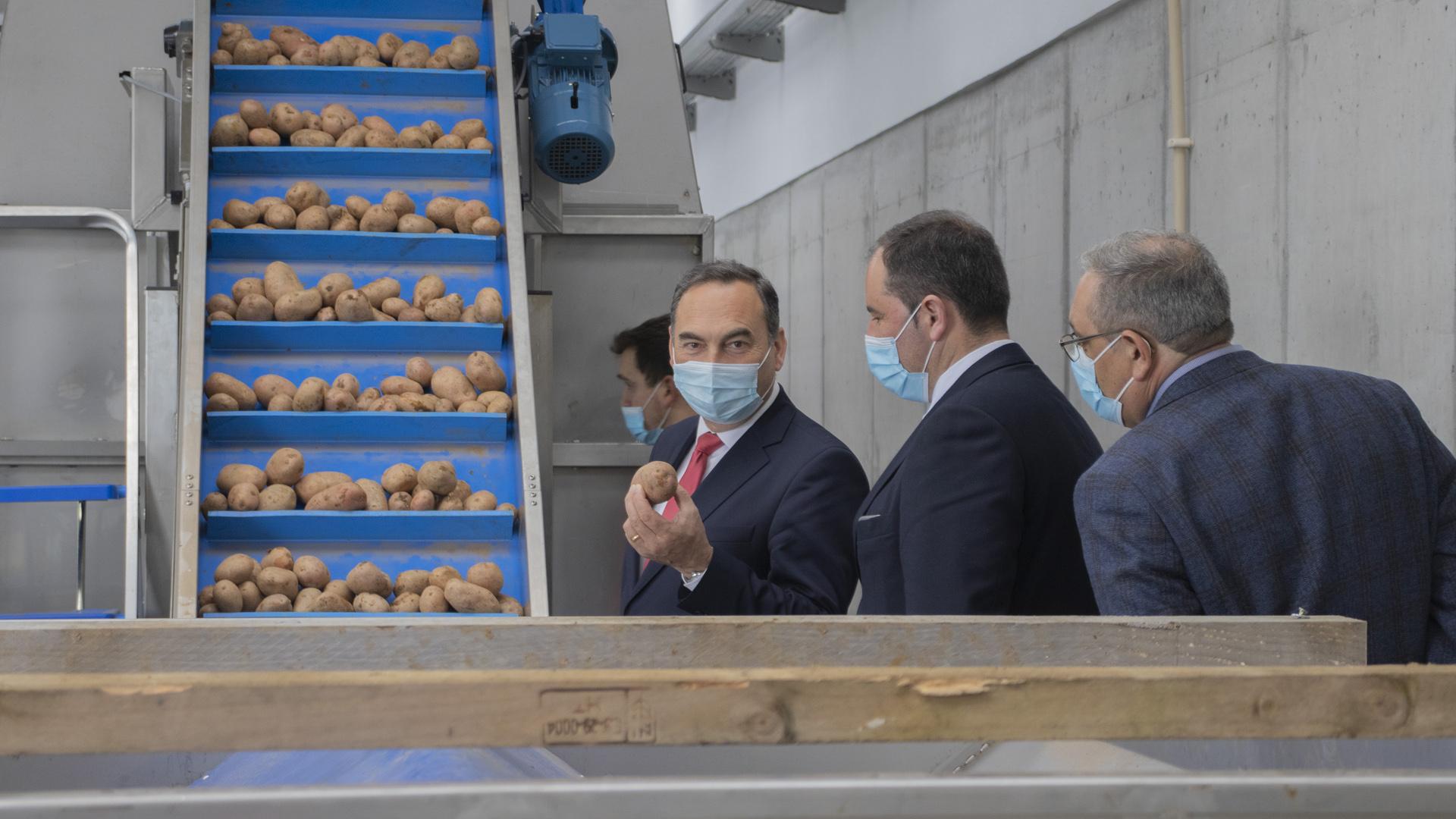 visita à Frutercoop - Cooperativa de Hortofruticultores da Ilha Terceira